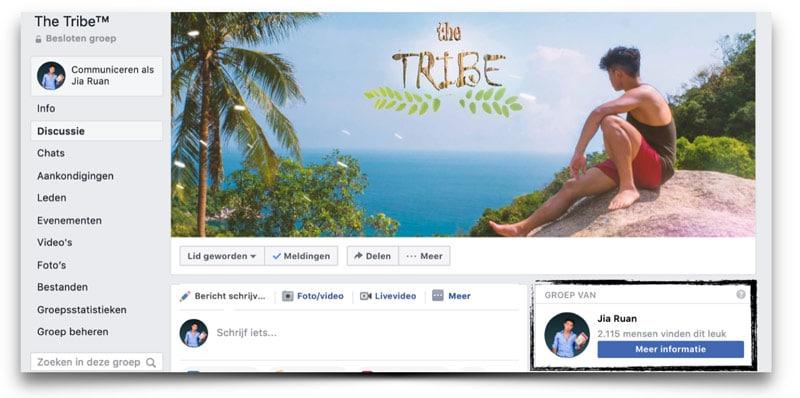 bol masterclass facebook tribe