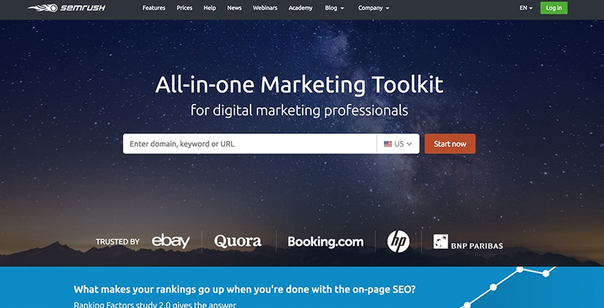 semrush seo software