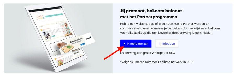 aanmelden bol.com affiliate programma